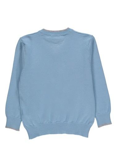 Asymmetry Hırka Mavi